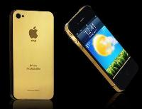 Goldstriker Apple iPhone 4 24ct.Gold Elite Customised by Gold genie